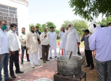 Ayurvedic Kadha Distribution